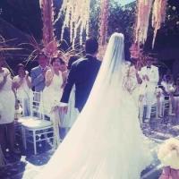 林心如霍建华的巴厘岛婚礼现场全过程