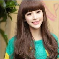齐刘海怎么剪好看 韩式齐刘海卷发发型