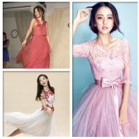 蕾丝纱裙长裙怎么搭配 时尚元素混搭尽显女性柔和美
