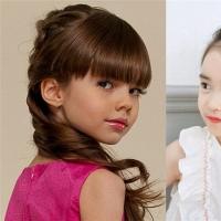 2016年最新流行的女童发型 儿童发型扎法推荐