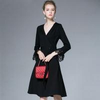 冬天连衣裙搭配法则 简约时尚淑女风