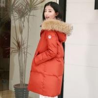 女款韩版羽绒服搭配示范 怎么搭配不显胖