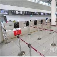 中国中断赴韩团体游 韩国机场冷清街道空旷