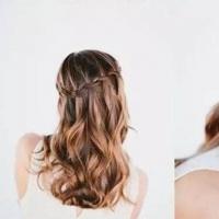 韩式公主头编发图解 3分钟打造韩式公主头发型让你美翻天