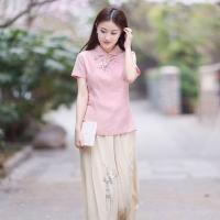 中国风服饰这样穿很美 始终坚守着原汁原味的美