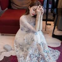 纱裙让你轻松脱颖而出 网纱晶莹剔透成流行典范