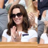 英国凯特王妃看网球 「王妃款猫眼太阳眼镜」被网友热搜