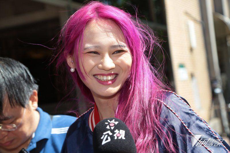 20170810-赖品妤10日因太阳花学运占领立法院案,至高等法院开庭。(颜麟宇摄)