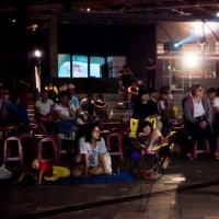 宜兰国际绿色影展 罗东文化工场户外放映