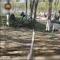 山西公园成天体营 数10位老伯脱光游泳兼下棋